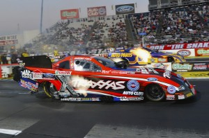Courtney Force & Ron Capps (JFR photo)