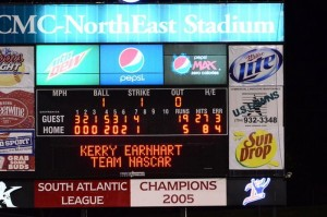 NHRA_baseball score