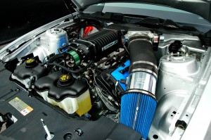 Roy_Hill_Mustang-engine