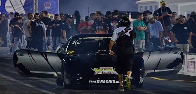 Paul Major was the number-three qualifier in Radial vs. The World and won  over Jeff Reed in the first round, but fell in round two against 14th-place starter Mike Jones.