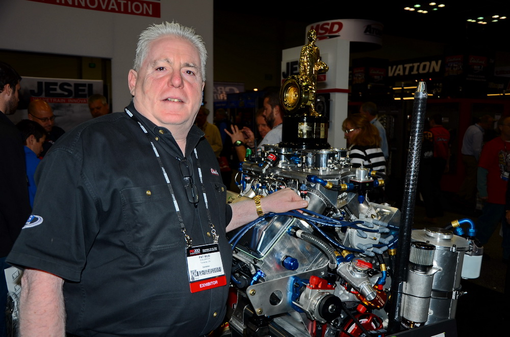 Pat Musi at the 2014 Performance Racing Industry Trade Show in Indianapolis.