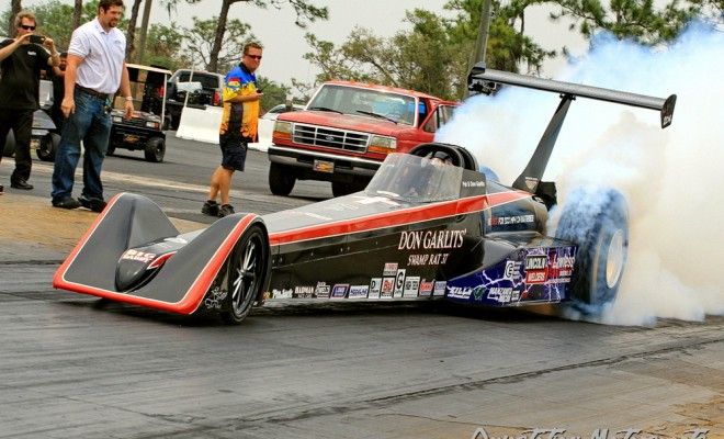 Garlits Goes 184 Mph To Set Electric Dragster Record
