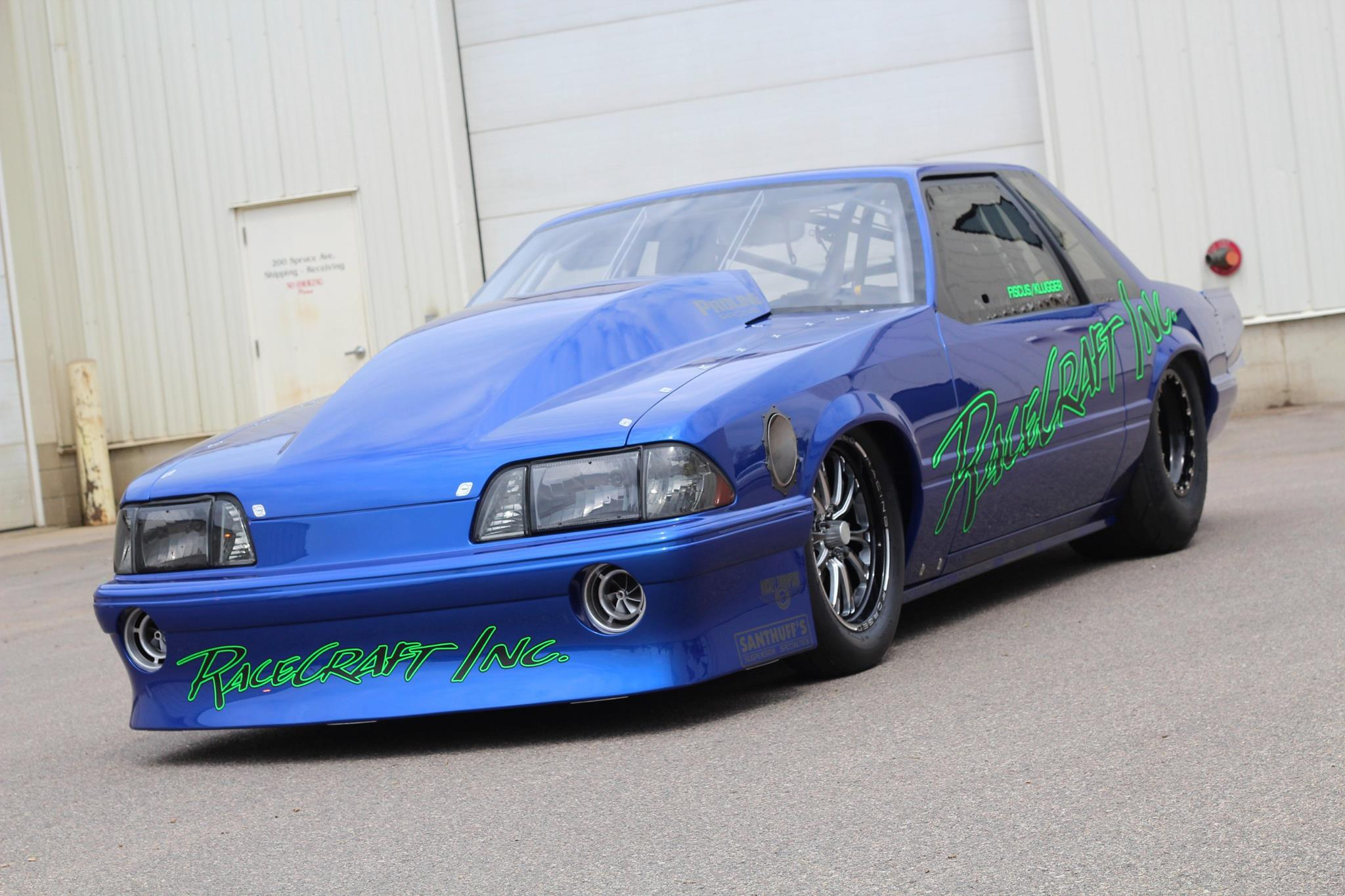 Di First Look Fiscus Klugger Racing Drag Radial Mustang Drag