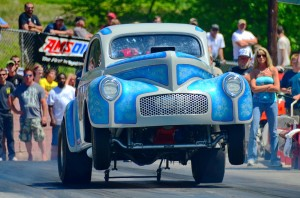 Quain Stott will lead his Southeast Gassers Association into Rockingham Dragway for a special exhibition during the PDRA event.
