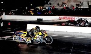 Eric McKinney (near lane) vs. Jason Harris