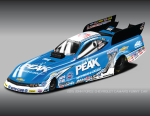 2015 JOHN FORCE CHEVROLET CAMARO