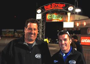 Speedtech's Steve Helkin and Will Smith