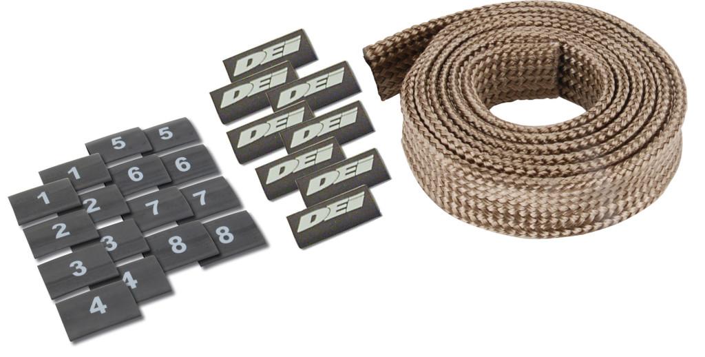 Titanium protect-a-wire v8 kit