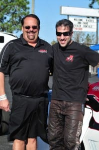 Charlie Buck (left) and Chris Rini